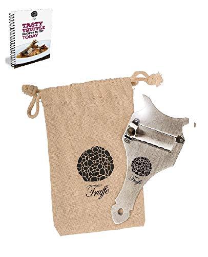 5-Truffle-Slicer-Chocolate-Shaver-con-bolsa-de-tela-chic-Tambin-afeita-queso-ajo-setas-y-verduras-Cuchilla-ajustable-de-acero-inoxidable-de-primera-calidad-0