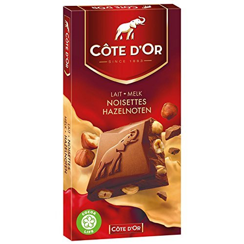 Cote Dor Belgian Milk Chocolate With Whole Hazelnuts 7 Oz